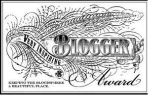Inspirational blogger award